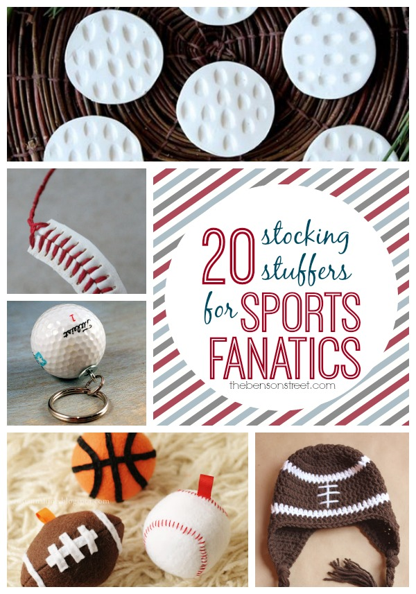 20 Stocking Stuffers for Sports Fanatics at thebensonstreet.com