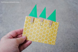 Adorable Paper Christmas Tree Paper Clips at thebensonstreet.com