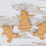 Scented Gingerbread Ornaments