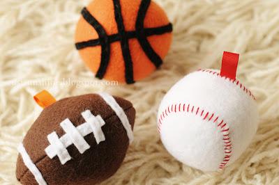 Mini DIY Sports Balls