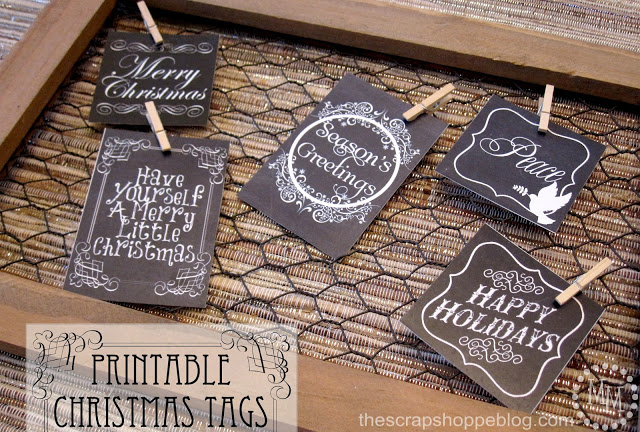 Printable Christmas Tags 1