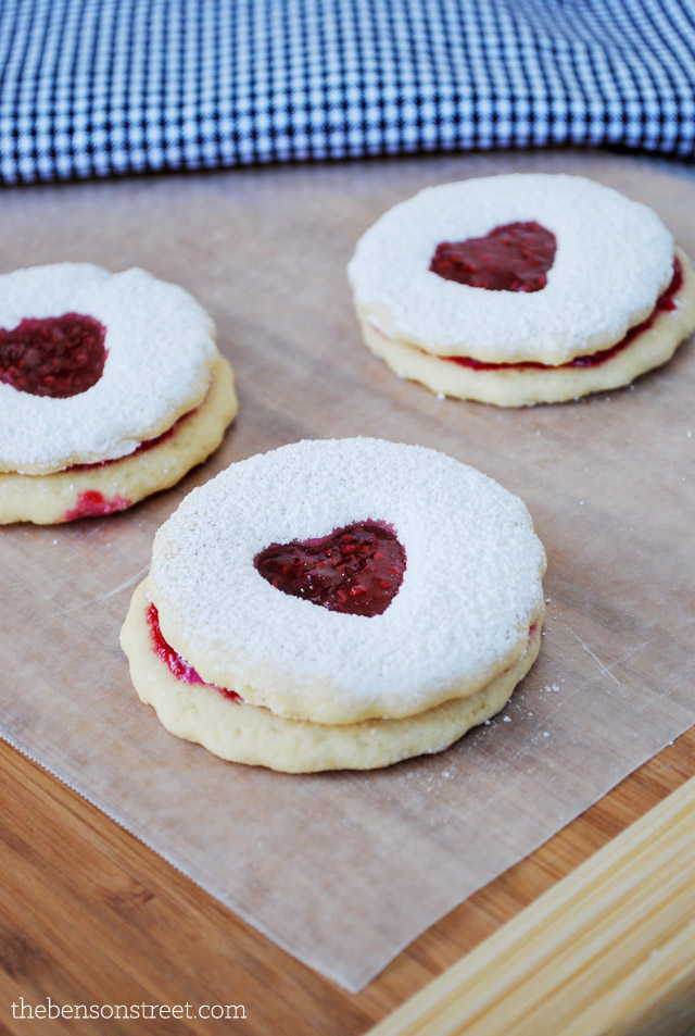 Jam Cut out Sugar Cookies at thebensonstreet.com