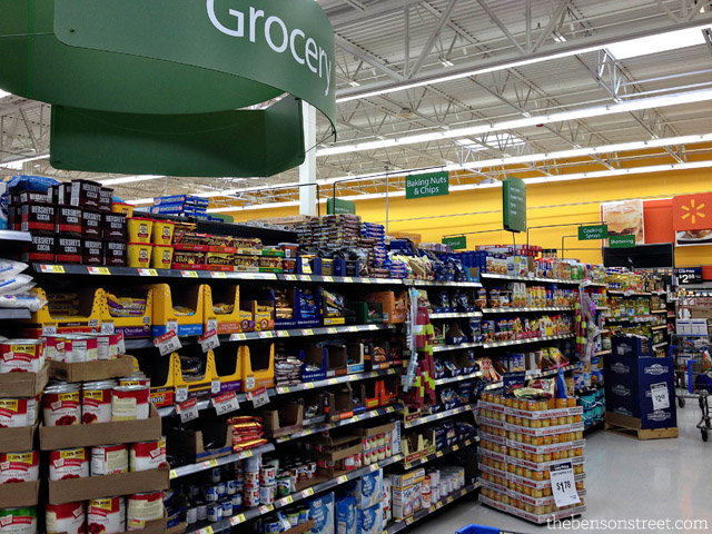 Kraft Foods at Walmart by thebensonstreet.com