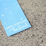 Cinderella Quote Bookmark Printable
