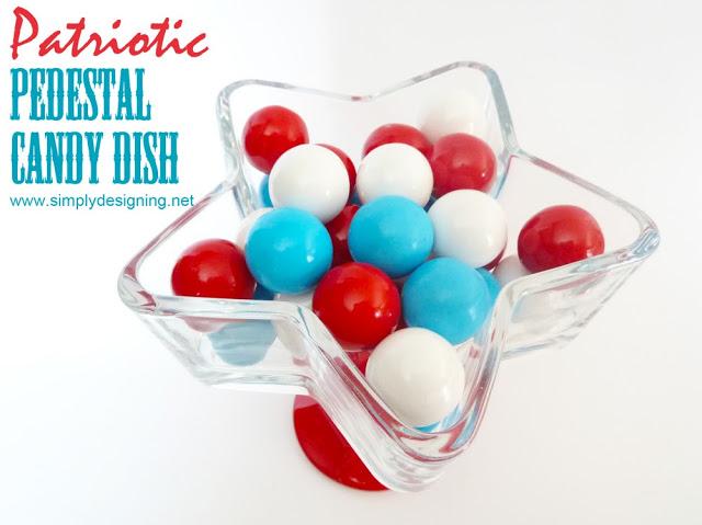 star pedestal candy dish