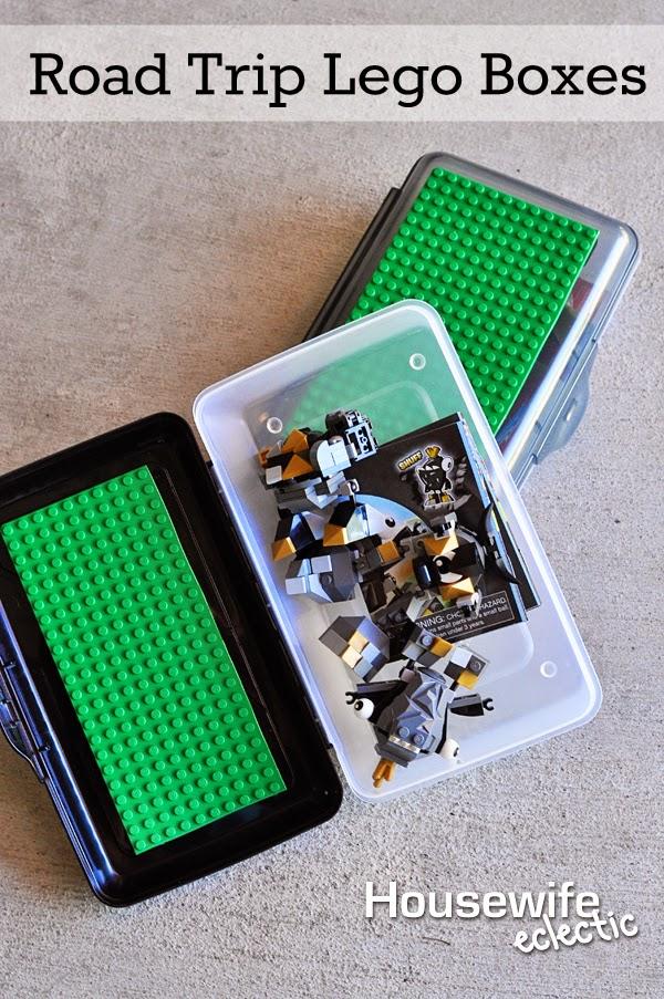 Roadtrip Lego Boxes