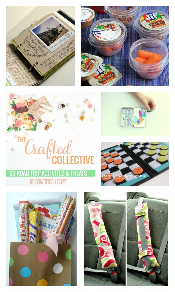 The Crafted Collective 60 Road Trip Activities and Treats via thebensonstreet.com