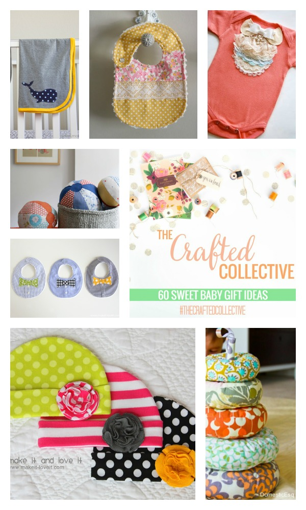 The Crafted Collective 60 Sweet Baby Gift Ideas at thebensonstreet.com