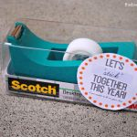 Back to School Teacher Gift Tag Printable and Idea