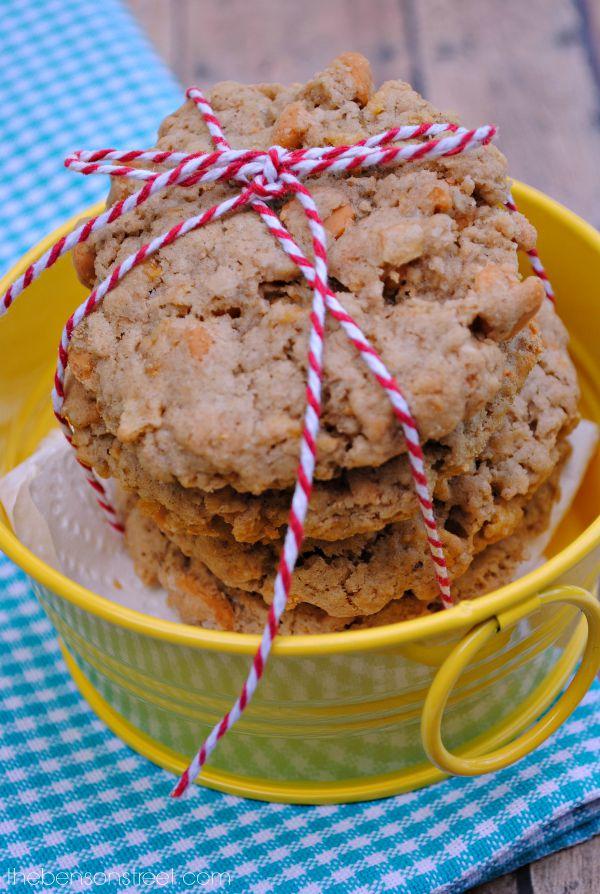 Oatmeal Butterscotch Cookies at thebensonstreet.com