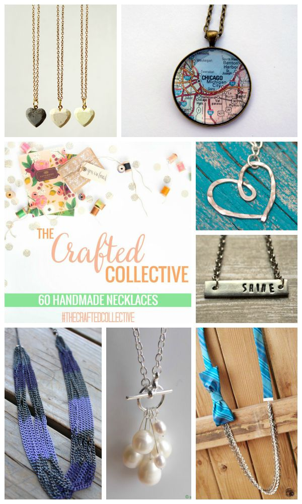 The Crafted Collective 60 Handmade Necklaces at thebensonstreet.com