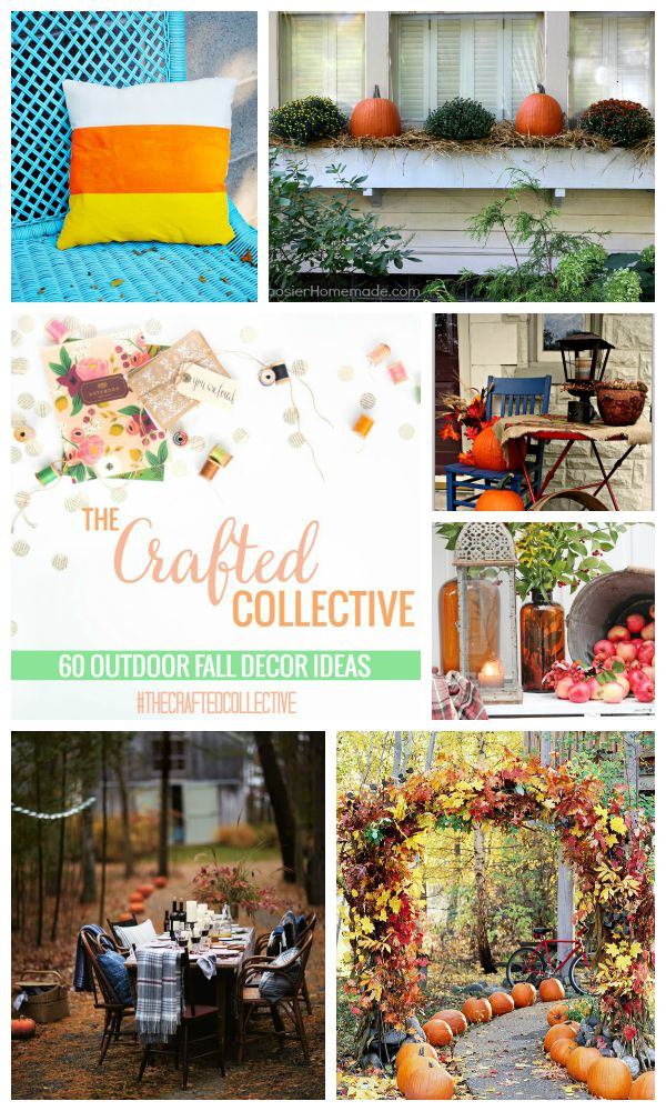 The Crafted Collective 60 Outdoor Fall Decor Ideas at thebensonstreet.com