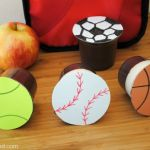 Sports Themed Pudding Cups | Fun Snack Idea for School Lunch