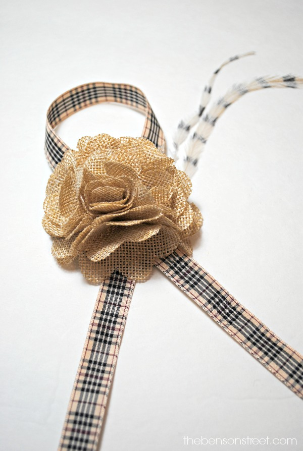 Adorable napkin rings for Fall at thebensonstreet.com