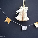 Silver and Gold Duct Tape Banner
