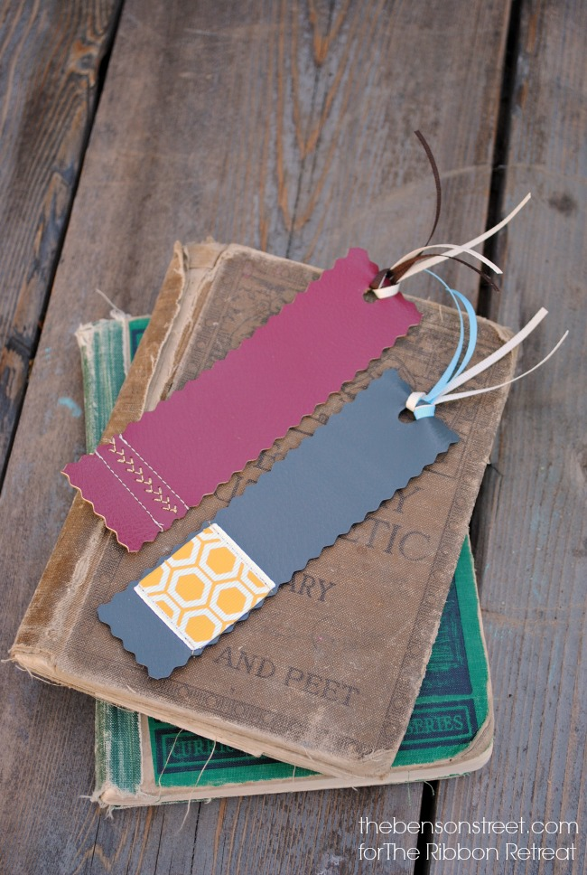 make-your-own-custom-faux-leather-bookmarks-via-thebensonstreet-com
