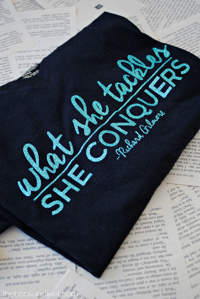what-she-tackles-she-conquers-gilmore-girls-quote-shirt-at-thebensonstreet-com