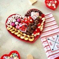 Valentine's Day Dessert Plate