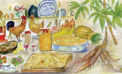 Cassava pie