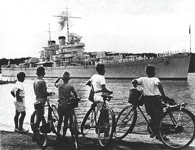 Bermuda During the Second World War