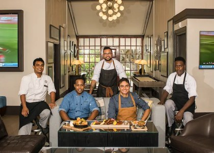New Boundary Sports Bar and Grille at Fairmont Southampton