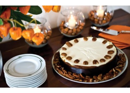 Liz's Pumpkin Cheesecake