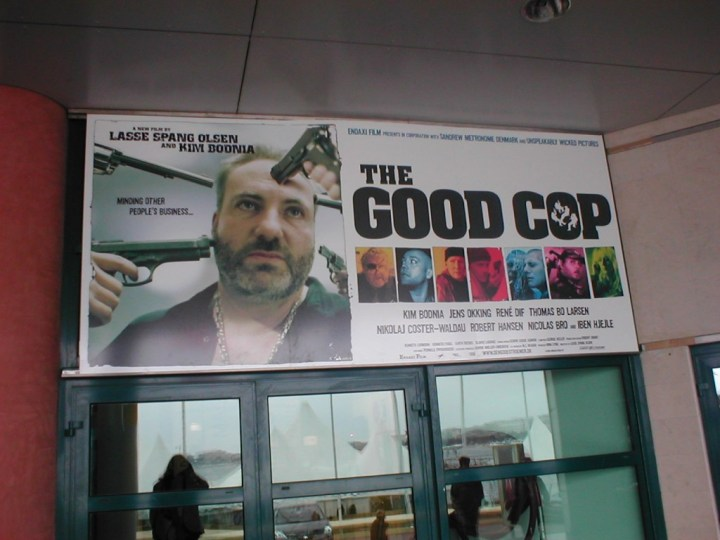 THE GOOD COP at the Cannes Market in May 2004