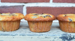 Lemon Ginger Fresh Fig Muffins