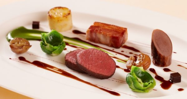 roasted-venison-fillet-dressed-with-caramelised-bacon-game