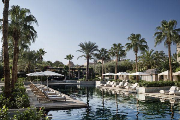 Four Seasons Hotel & Resort, Marrakech. Photo by Alan Keohane www.still-images.net