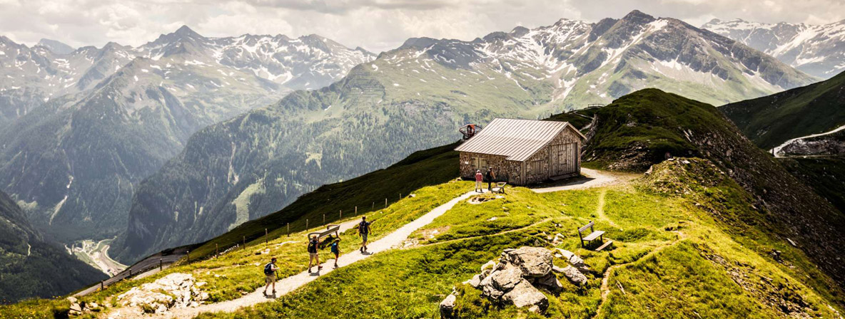 The hills are alive, alive with sheep and radon in Gastein, Austria