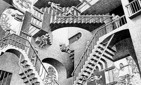 impossible - Escher stairway - The Best Advice So Far