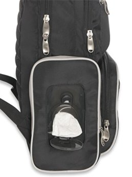 Backpack Nappy Bag with Wipe Compartment
