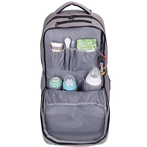 Top 5 Best Backpack Diaper Bags for Dad | Lekebaby Unisex Diaper Bag Backpack