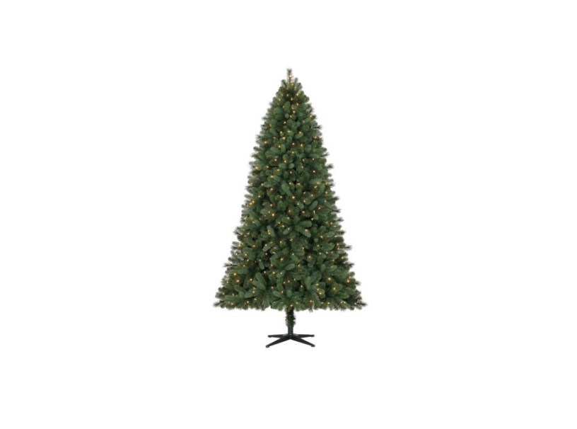 holiday time pre lit color changing 75 norwich spruce christmas tree for 68 at walmart