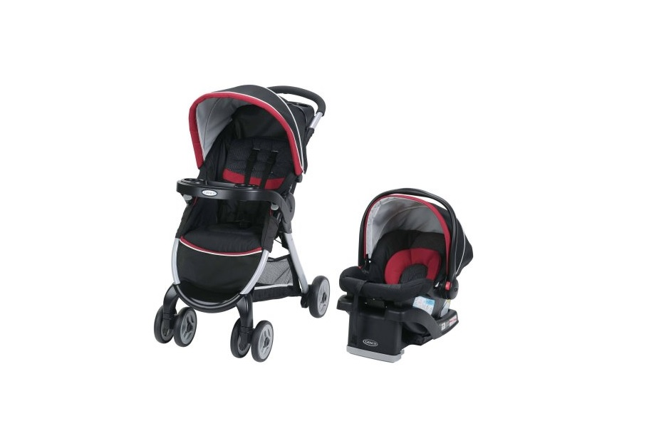 Graco FastAction Fold Click Connect Travel System for $129.88 at Walmart