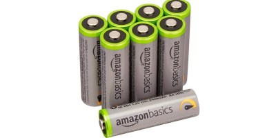 AmazonBasics AA High-Capacity Pre-charged Rechargeable Batteries
