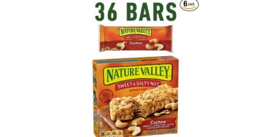Nature Valley Granola Bars Sweet and Salty Nut 36 Bars