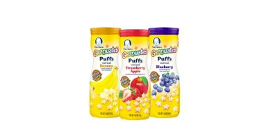 Gerber Graduates Puffs Cereal Snack Variety Pack, Naturally Flavored with Other Natural Flavors