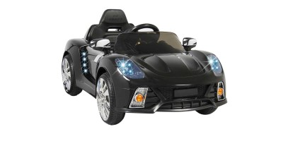 12V Ride On Car Kids With MP3 Electric Battery Power Remote Control RC Black