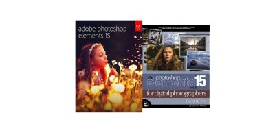Adobe Photoshop Elements 15 PC Mac with The Photoshop Elements 15 Book for Digital Photographers
