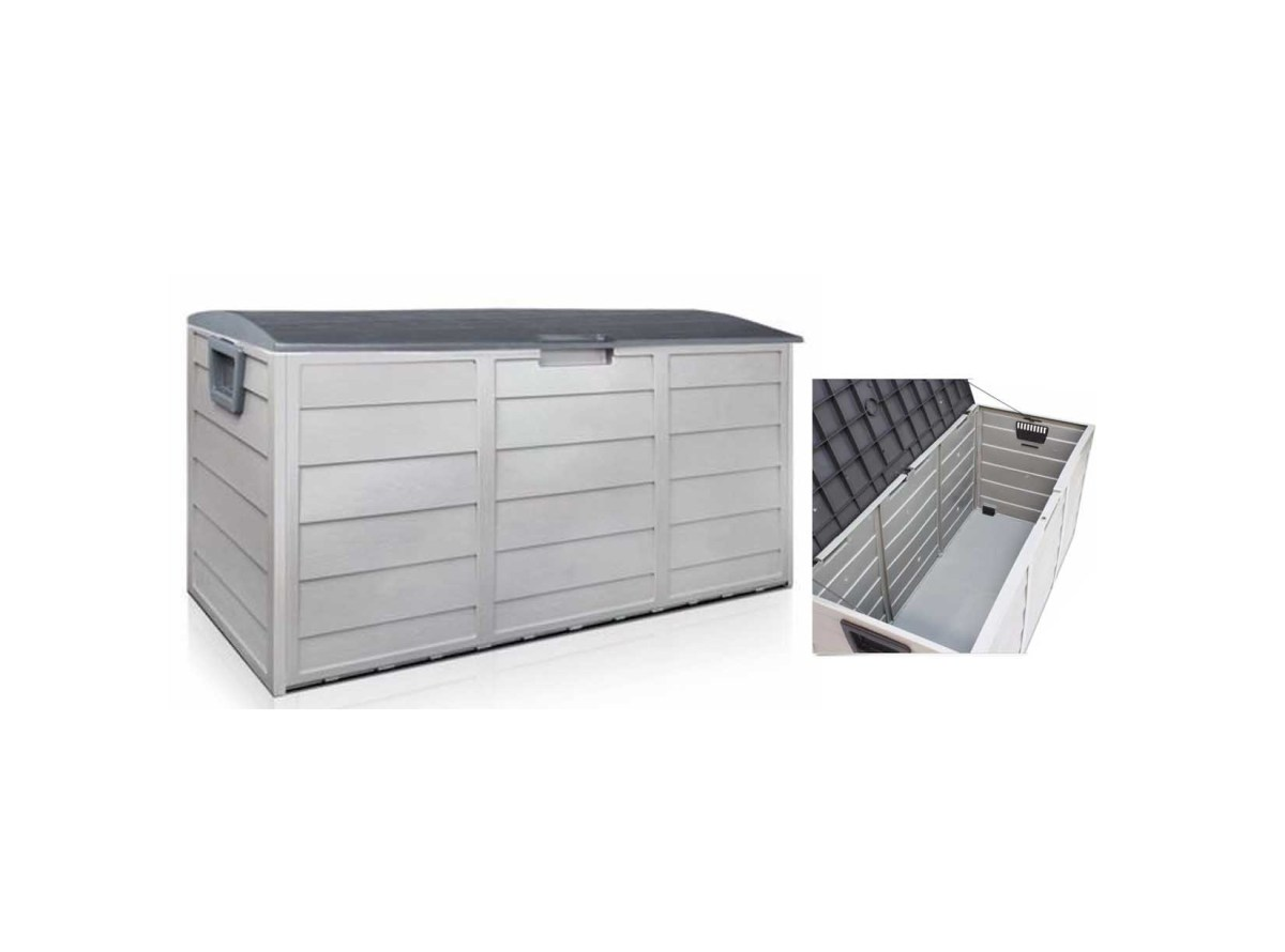 Outdoor Patio Deck Box All Weather Large Storage Cabinet Container Organizer for $59.99 at eBay