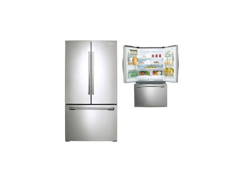 Samsung 25 5 Cubic Feet Stainless Steel French Door