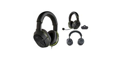 Turtle Beach – Geek Squad Certified Ear Force XO FOUR Stealth Wired Stereo Gaming Headset for Xbox One (Refurbished)