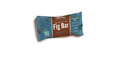 12 Count Box Nature's Bakery Whole Wheat Fig Bar Blueberry – Vegan + Non-GMO