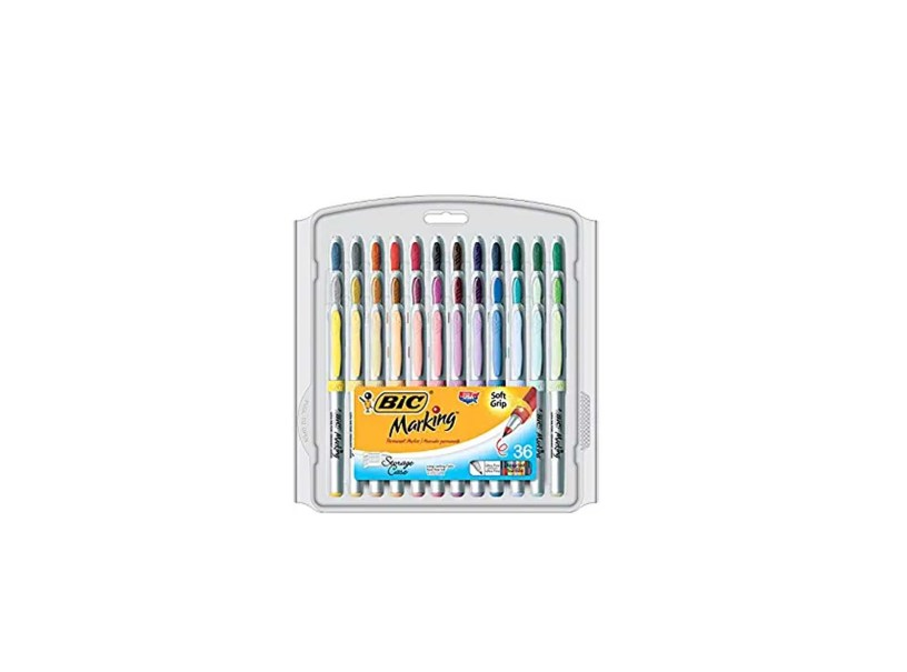 36 Count Bic Marking Permanent Marker Ultra Fine Point
