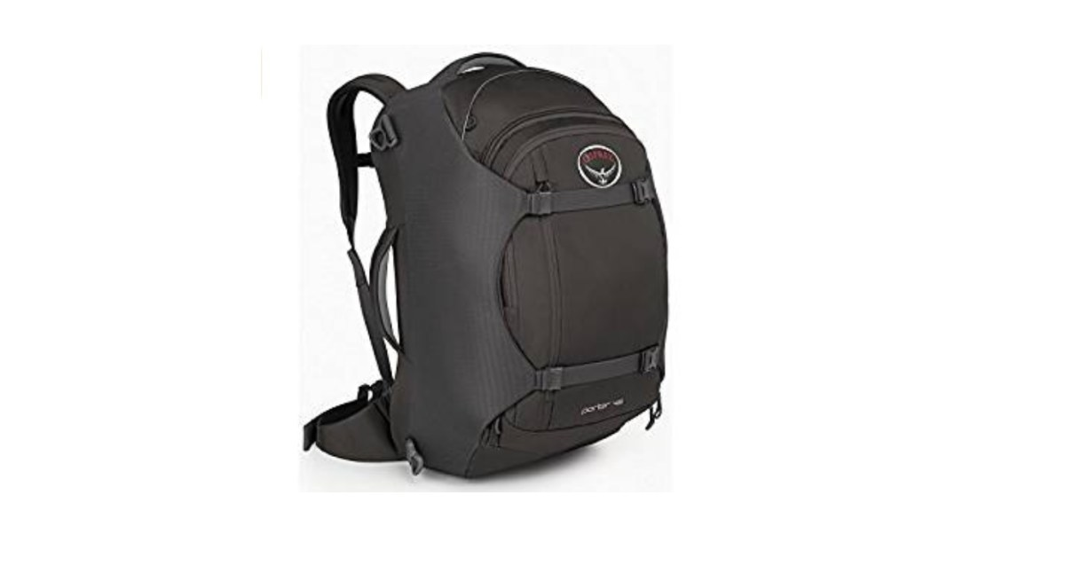 46-Liter Osprey Porter Travel Backpack for $89.99 at Amazon