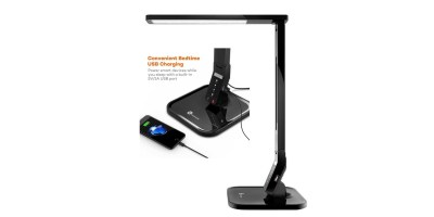 TaoTronics LED Desk Lamp with USB Charging Port – Touch Control 4 Lighting Mode with 5 Brightness Levels