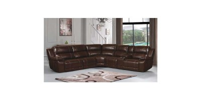 Clayton Reclining Sectional by Home Meridian International