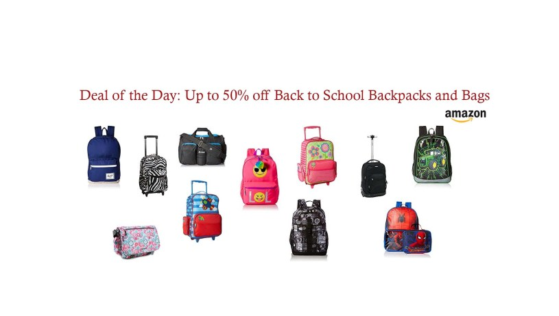 50% Off Back to School Backpacks and Bags at Amazon – The Best Deals ... dad4ab91f30df